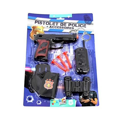 Mercier Toys- Set Police, 52048, Coloris aléatoire