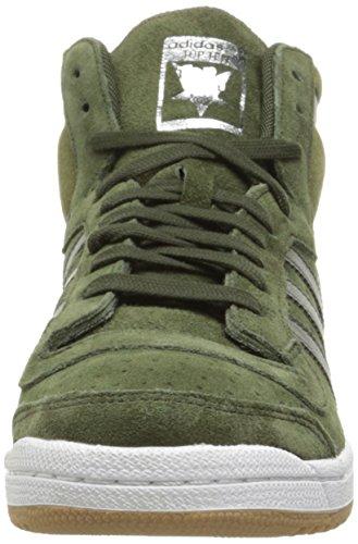 Adidas Top Ten Hi Cuir Baskets NgtCar-NgtCar-OliCar
