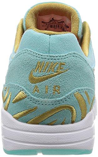 Nike - W Air Max 1 Ultra Lotc Qs, Scarpe sportive Donna Verde (Island Green / Islnd Grn-Flt Gld)