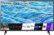 LG 139 cm (55 inches) 4K UHD Smart LED TV 55UM7290PTD (Ceramic BK + Dark Steel Silver)