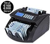 ZZap NC20+ Banknotenzähler & Falschgeld-Detektor - Geldzählmaschine Geldzähler Banknotenzählmaschine