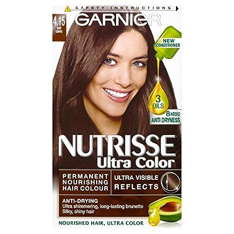 Garnier Nutrisse 4.15 Ultra Iced Coffee Brown Permanent Hair Dye