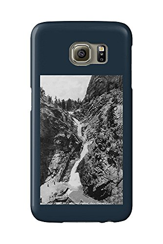 Colorado Springs, Colorado - View of Seven Falls in the South Cheyenne Canyon (Galaxy S6 Cell Phone Case, Slim Barely There) -