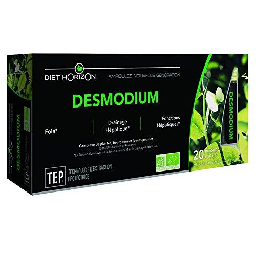 Complément Alimentaire - Desmodium bio - 20 ampoules - Diet Horizon