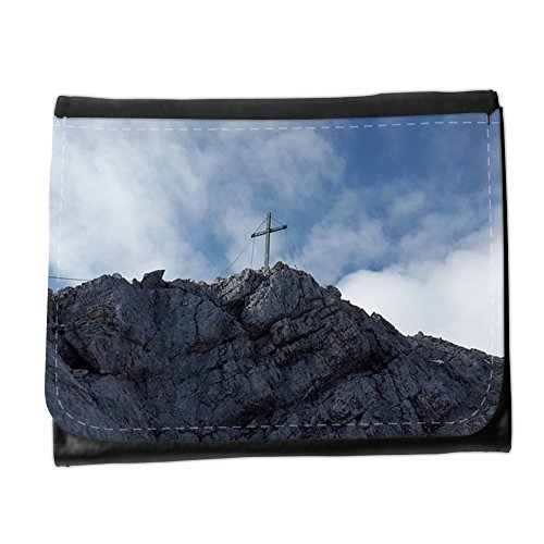 Cartera unisex // M00312038 Alpspitze Summit croce di vetta alpina // Small Size Wallet