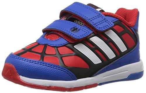 adidas Disney Spiderman Cf I, Baskets mode bébé garçon Rouge (Rouge/Ftwbla/Noiess)