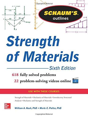 Schaum's Outline of Strength of Materials, 6th Edition (Schaum's Outlines) -