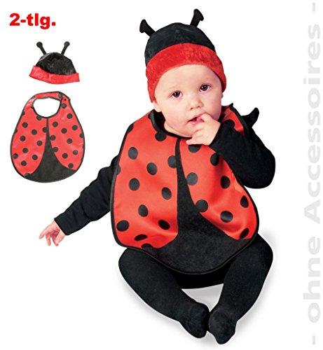 Kostüm Marienkäfer für Babys 2-teilig Gr. 86