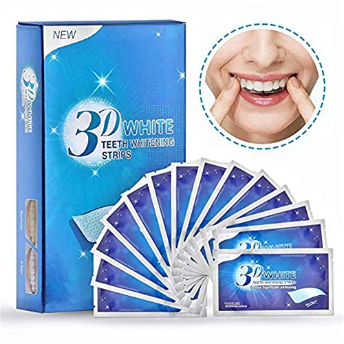 Teeth Whitening Strips, Teeth Whitener Professional whitestrips Kit Dental Whitener Kit 7Pack 14piece -