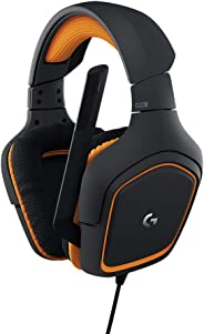 Logitech G231 Prodigy Gaming Headset - Black