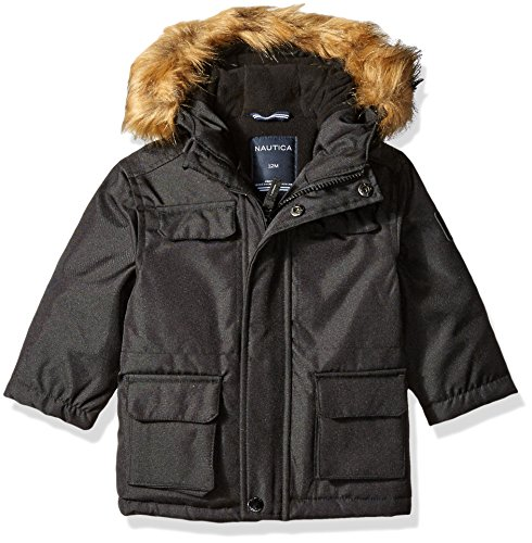 Nautica Baby Expedition Parka, Black, 24 Months