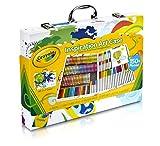 VALIGETTA ARCOBALENO Coloratissima valigetta con maniglia, pratica da portare ovunqueTutto il meglio dei prodotti Crayola sempre a portata di manoRicchissimo contenuto, più di 150 pezzi...