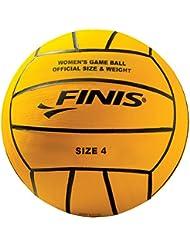 FINIS - Pelota de polo para mujer, tamaño único, color amarillo