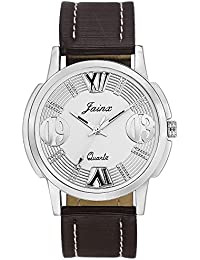 Jainx Silver Dial Analog Watch For Men & Boys - JM262
