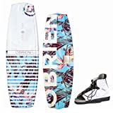 Obrien Pixel 132cm & Nova - Wakeboardpackage/Wakeboardset - Wakeboard & Wakeboardbindung