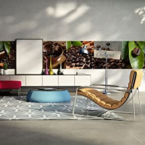 murando wand bilder deko panel xxl 400x50 cm vlies. Black Bedroom Furniture Sets. Home Design Ideas