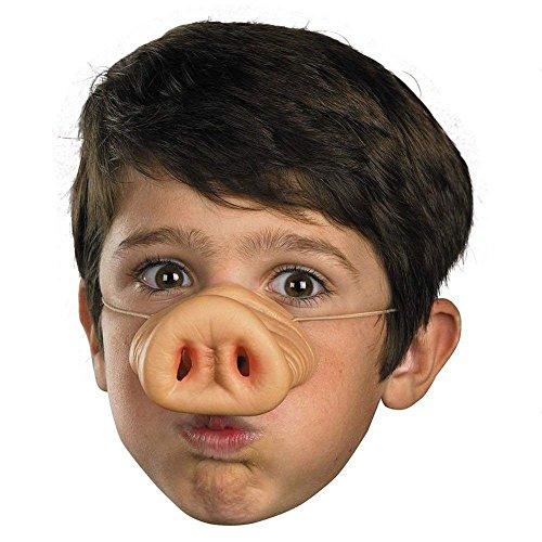 Latex Nase Kostüm - TOOGOO Halloween Latex-Schweinenase Schwein Nase Kostuem Gummi Latexnase Schnauze Maske Lustige Pig Nose