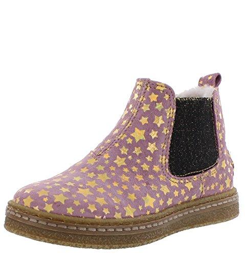 Ocra Stiefel Boot stars nostalgia rosa mit Sternen gefüttert 26 c754c6dc086