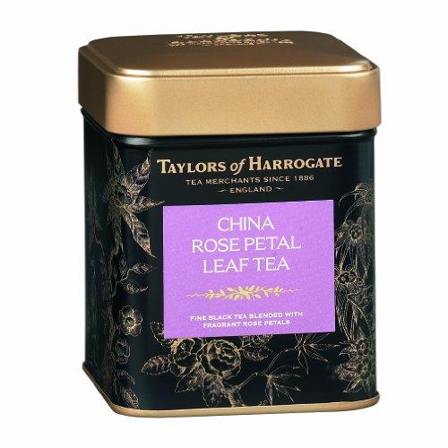Taylors of Harrogate China Rose petal Loose Leaf Tea 125g (1 x Caddy)