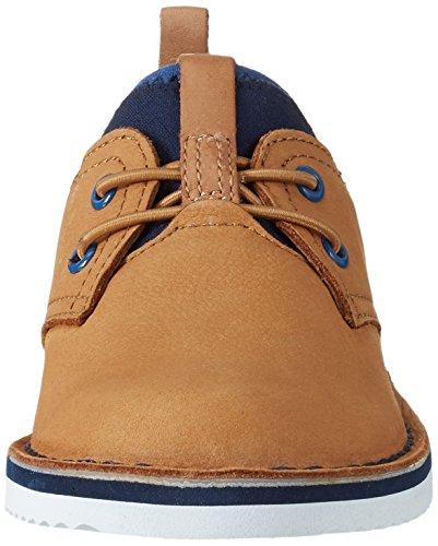 Clarks Oscar Maze, Sneakers Basses Garçon Marron (Tan)
