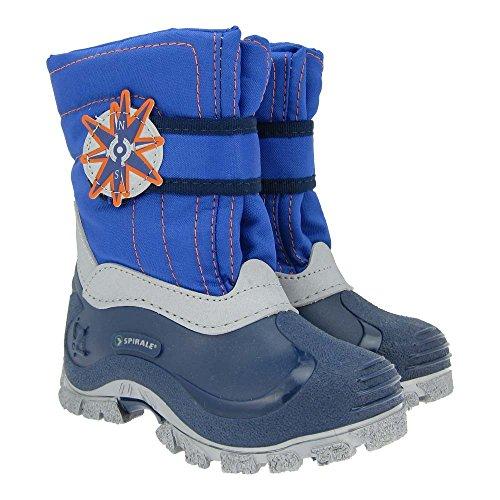 GALLUX - Kinder Stiefel Winterstiefel schöne Jungen Boots Blau