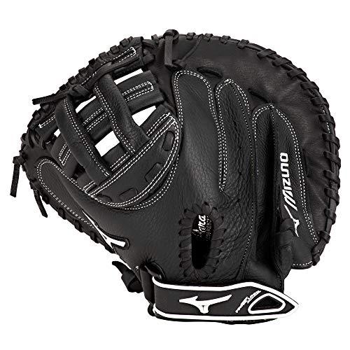Mizuno Prospect gxs102Fastpitch Softball Catcher 's Pad, Größe 32,5, schwarz -