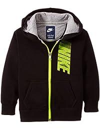 Nike Ya76 Gfx Bf - Sudadera para niño, color negro, talla S