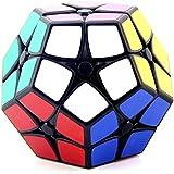 HJXDtech - Shengshou Nueva irregular Cubo Mágico 2x2x2 cubo pegatina ABS Megaminx cubo de la velocidad (negro)