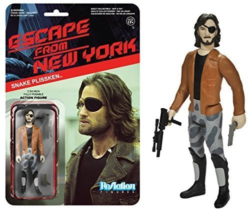 Snake Plissken w/ Jacket Action Figure: Funko x Super 7 x Escape from New York ReAction Series by Escape from New York