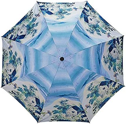 YSKGZ Ombrello Ombrello della Pittura A Olio di Modello di di di Paesaggio Pioggia Ombrello Solare,3 Ombrello di Disegno Astratto di Arte di Disegno Astratto di Ispessimento,D | attività di esportazione in linea  | Di Progettazione Professionale  b23e6c