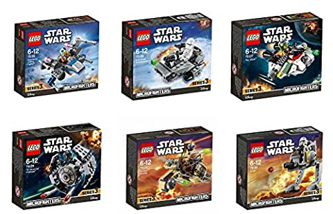 The Complete LEGO Star Wars Series 3 Microfighter Set -