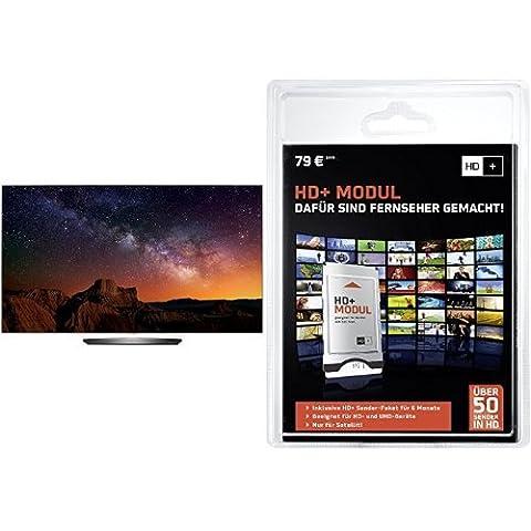 LG OLED65B6D 164 cm (65 Zoll) OLED Fernseher (Ultra HD, Triple Tuner, Smart TV)+ HD PLUS CI+ Modul für 6 Monate (inkl. HD+ Karte, optimal geeignet für UHD, nur für Satellitenempfang)