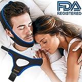 Anti Ronflements, Dispositifs Anti Ronflements Réglable Mentonnière Snore Stopper pour Aide Sommeil Réduction Ronflement Mentonnière for Hommes Femmes