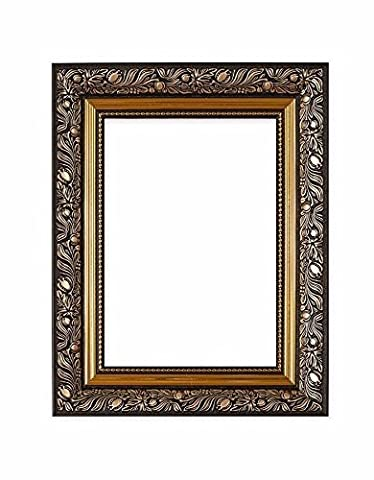 Gold-A2 - Ornate swept Antique style french style Picture Frame / Photo Frame / Poster Frame – With a High Clarity Styrene Shatterproof Perspex Sheet – Other colors & sizes available