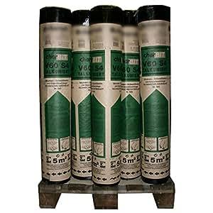 1 palette bitumen schwei bahn v60 s4 talkumiert 30 rollen mit je 5 m 150 m mit. Black Bedroom Furniture Sets. Home Design Ideas