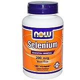 NOW Foods Selenium 200 mcg VCaps, 180 ct