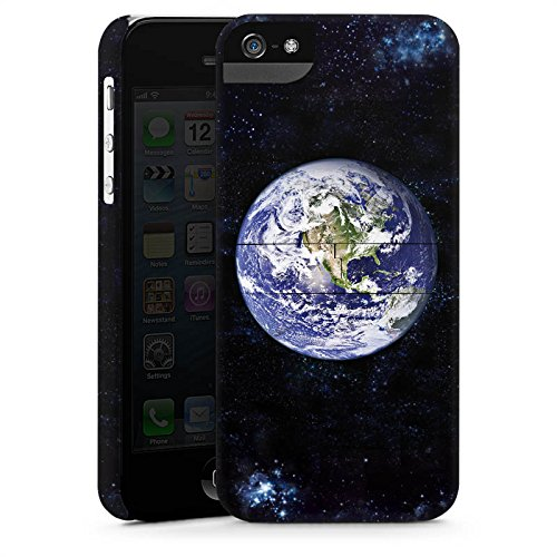 Apple iPhone 4 Housse Étui Silicone Coque Protection Terre Terre Monde CasStandup blanc