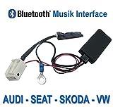 WATERMARK Vertriebs GmbH & Co. KG Bluetooth Musik Adapter für VW, Audi, SEAT, Skoda mit Werksradio ab 2004
