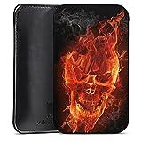 Gionee Pioneer P2s Sleeve Bag Tasche Hülle - Burning Skull