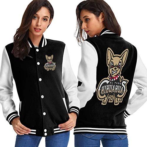 Dlovae Kapuzenpullover,Hemden Tops Women EL Paso Chihuahuas Baseball Uniform