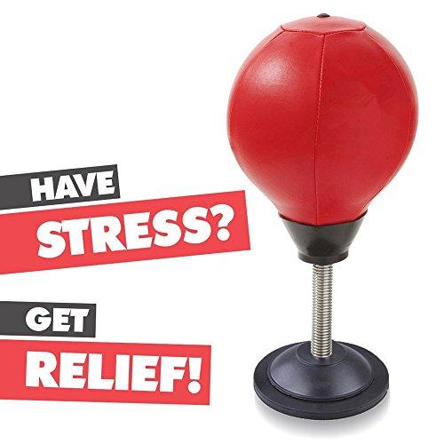 TOCC Stress Buster Desktop Punching Ball–lindert betont & Good für Bewegung