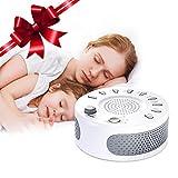 Appareil de sommeil therapie Liaboe aide au sommeil, Machine de Sonore Thérapie avec 9 Sons Naturel, 15/30/60 Minuterie d'Arrêt Automatique Sons Spa pour Bébé, insomniaque et voyageur