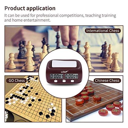 Leap-Digitale-Multifunktions-Display-Schachuhr-Count-Up-Down-Timer-elektronische-Brettspiel-Wettbewerb-Clock-Gift-Box