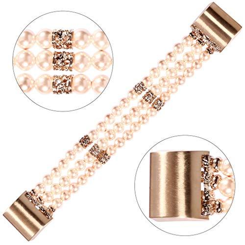 Feinny Smart Bracelet Uhren Armband/Mode Neue Perlen Dekorative Modelle Einstellbar Sport Smart Watch Ersatzgürtel/Für Fitbit Charge2 Serie Produkte - 180-250MM