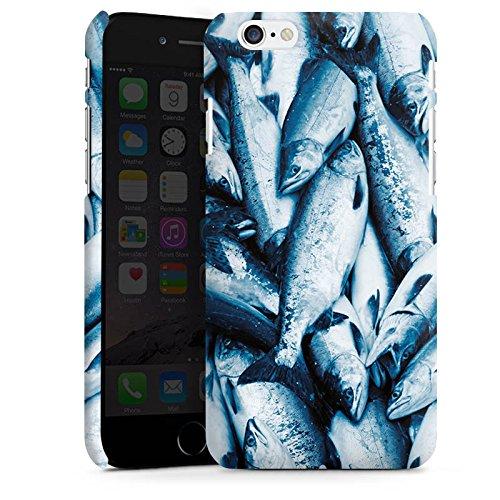 Apple iPhone X Silikon Hülle Case Schutzhülle Fisch Der Fang Fische Premium Case matt