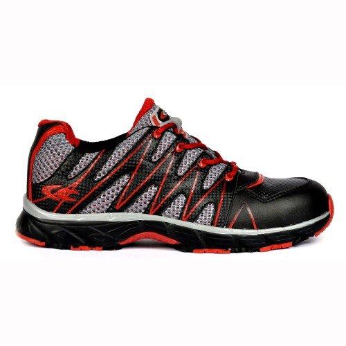 Cofra, scarpe antinfortunistiche, calzature da lavoro, modello New Samurai Black S1 P, misura 42, JV008-000