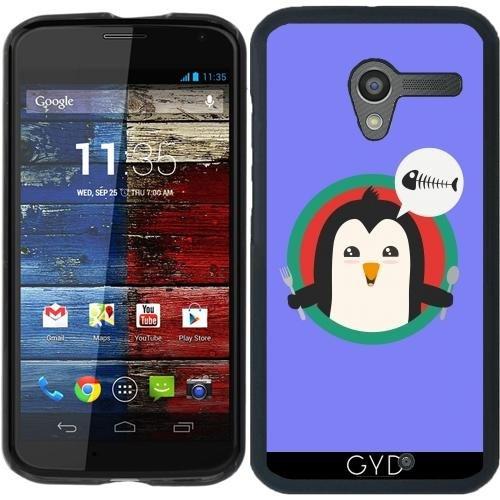 Hülle für Motorola Moto X (Generation 1) - Pinguin Mit Besteck Und by ilovecotton Motorola X Generation 1 Fall