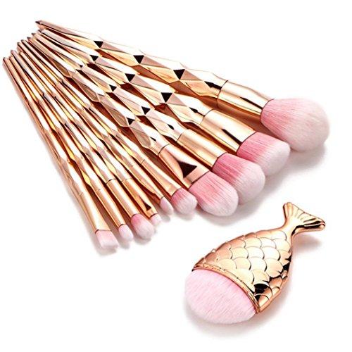 MEIbax 11PCS Make Up Foundation Augenbrauen Eyeliner erröten kosmetische Concealer Pinsel//Makeup...