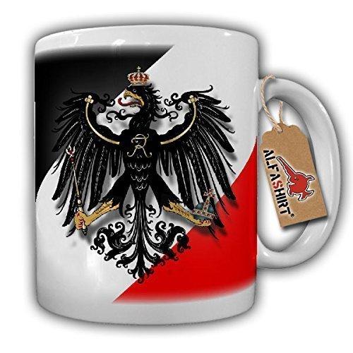 Original Militär Preußen Swr Schwarz Weiss Rot Adler- Tasse Becher Kaffee #6388a Adler-kaffee-tasse