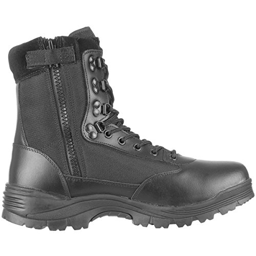 Tactical Bottines à fermeture Éclair YKK Kaki - Noir